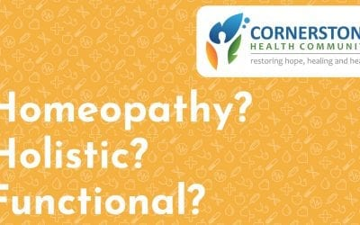 Homeopathy? Holistic? Functional?